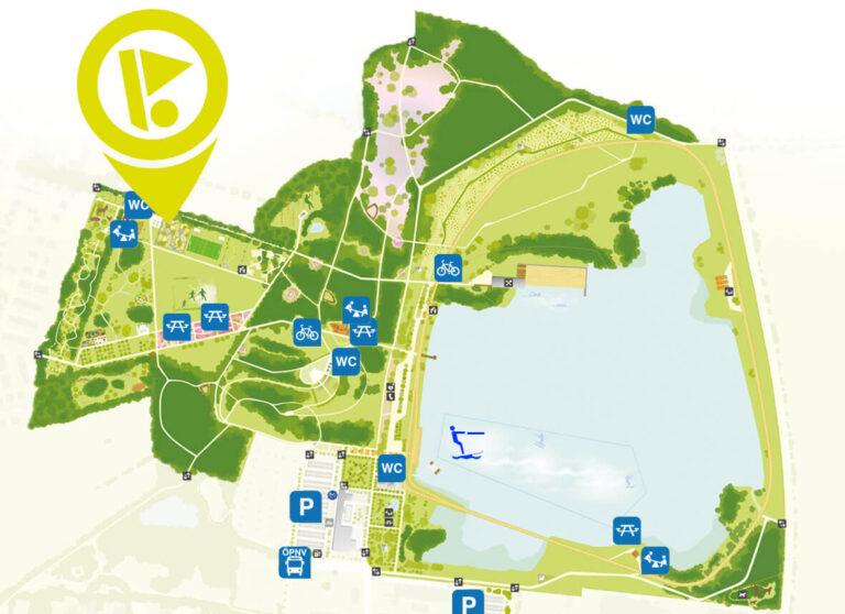 Spotz Stadtpark Norderstedt Lageplan Adventure Golf